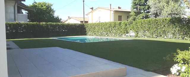 immagine giardino con piscina a San Zenone degli Ezzelini