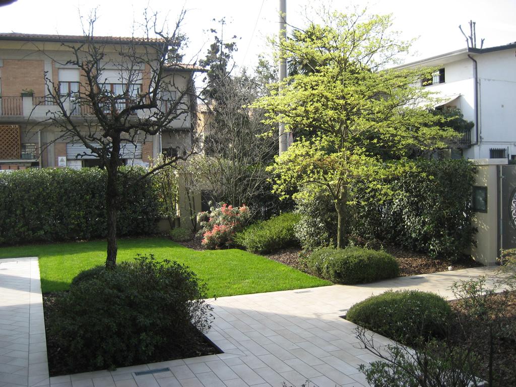Progetto giardino in inverno verde idea - Giardino di inverno ...
