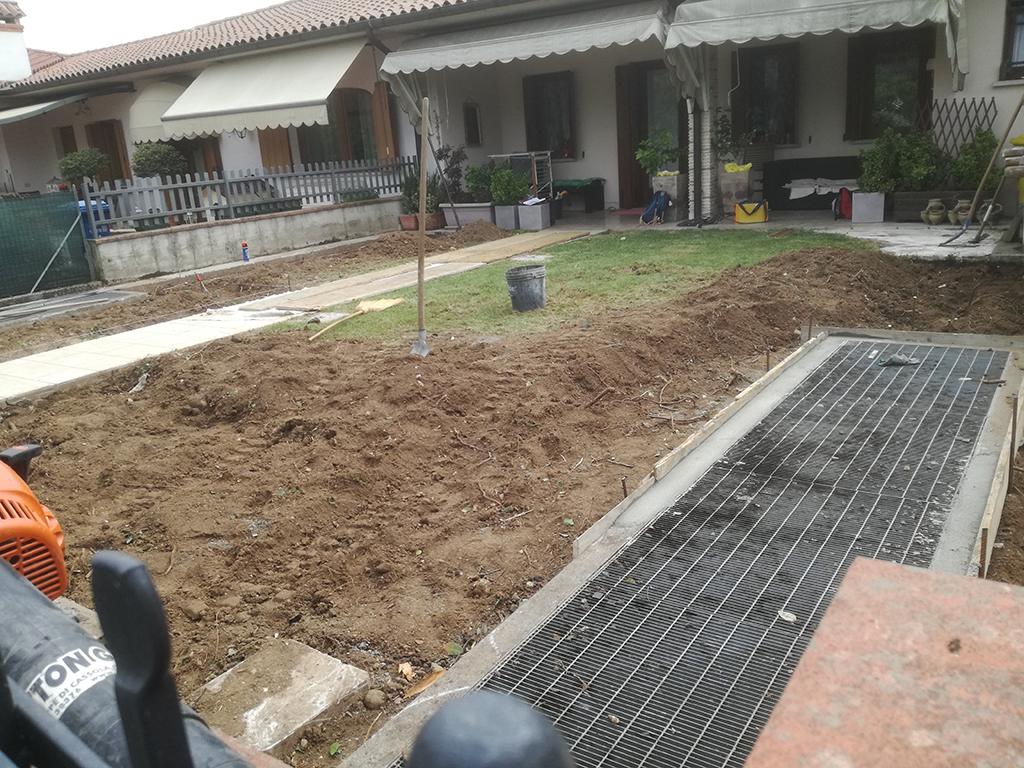 giardino mediterraneo con graniglie castelcucco foto 3