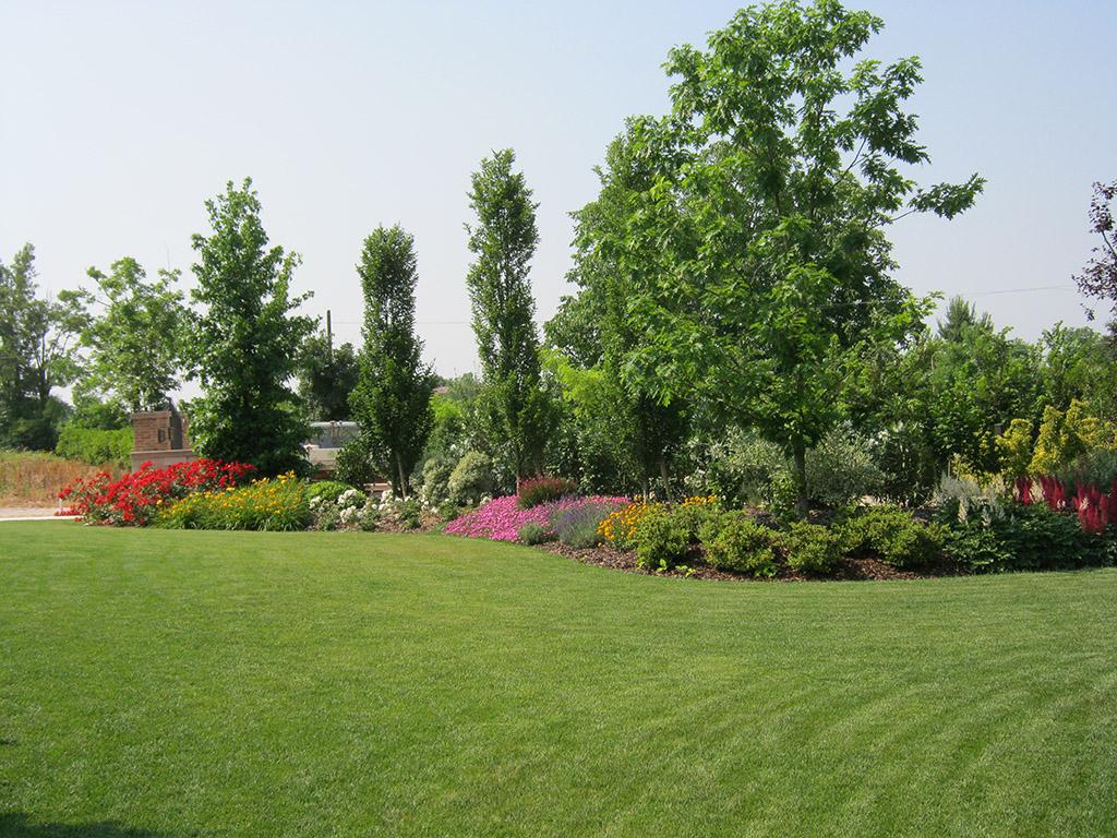 Progetto giardino privato verde idea for Realizzazione giardini privati