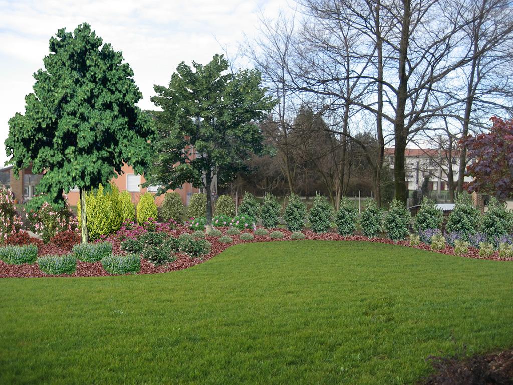 Progetto giardino privato verde idea for Progetti di giardini privati