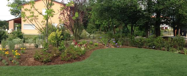 Progetto giardino privato verde idea - Progetto giardino privato ...