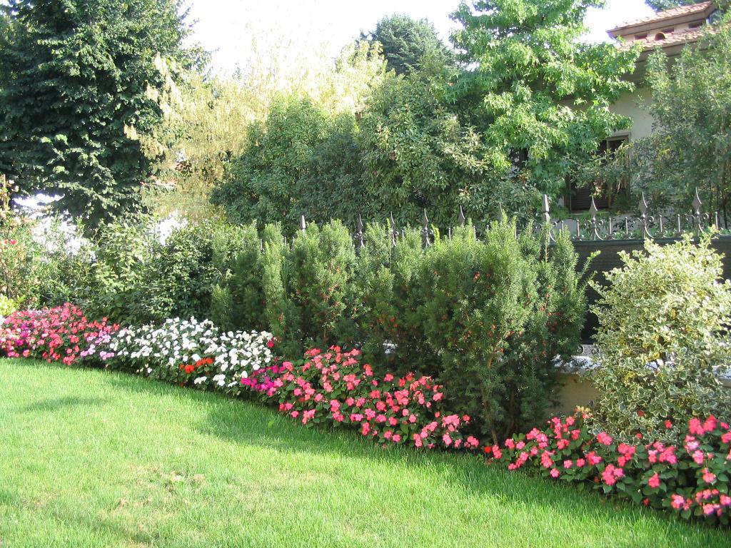 spesso Progetto piccolo giardino con fioriture stagionali - Verde Idea YY99