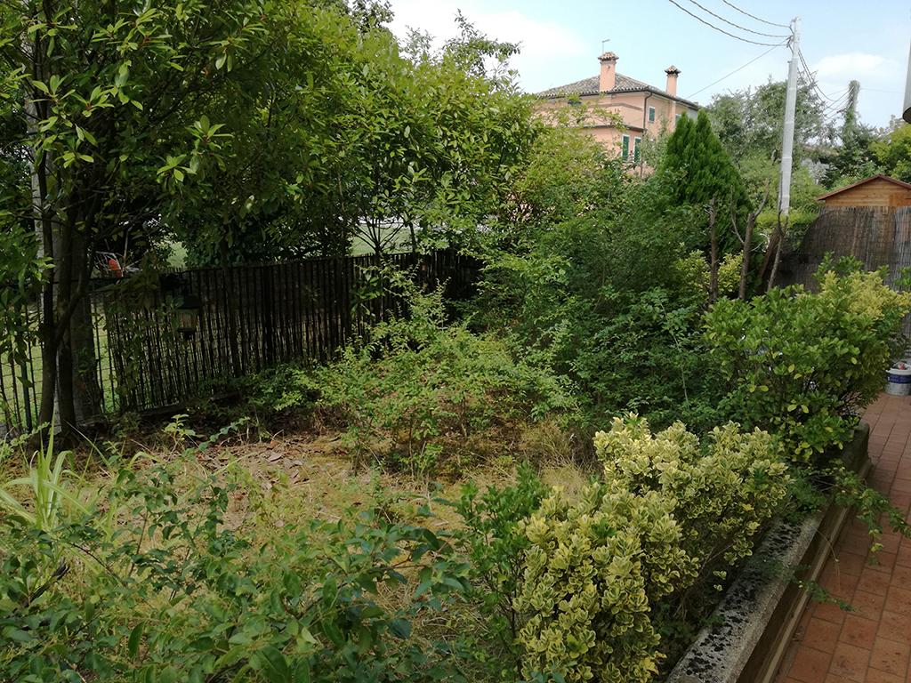 realizzazione giardino con graniglie a Mussolente foto 1