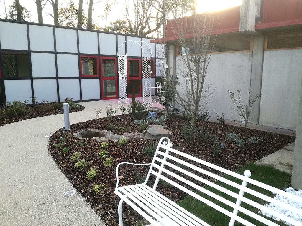 realizzazione giardino sensoriale a Castelfranco Veneto foto 12