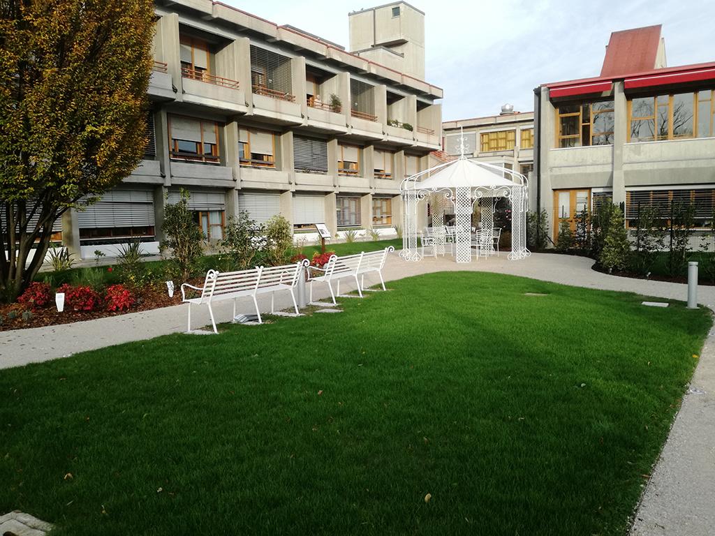 realizzazione giardino sensoriale a Castelfranco Veneto foto 7