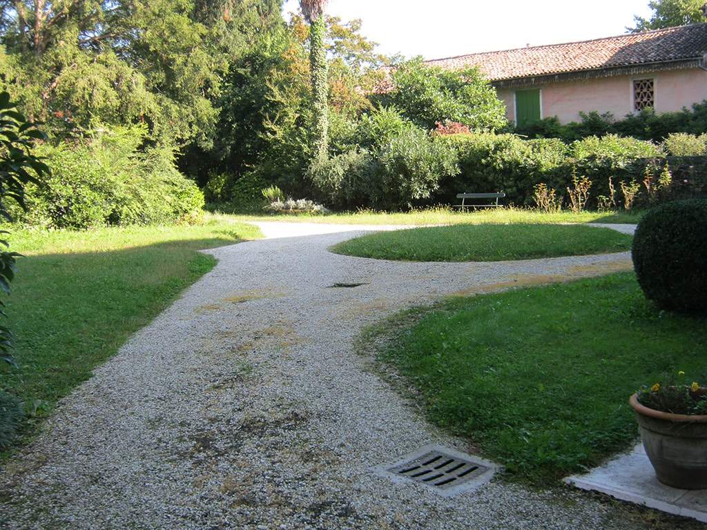 fabulous ripristino giardino villa del a castello di