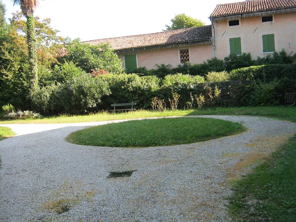 ripristino giardino villa del 1800 a Castello di Godego
