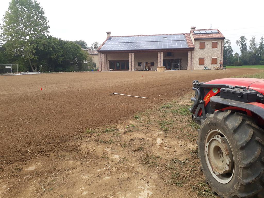 realizzazione giardino privato a Mussolente foto 3