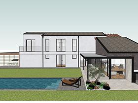 immagine fase progetto del giardino